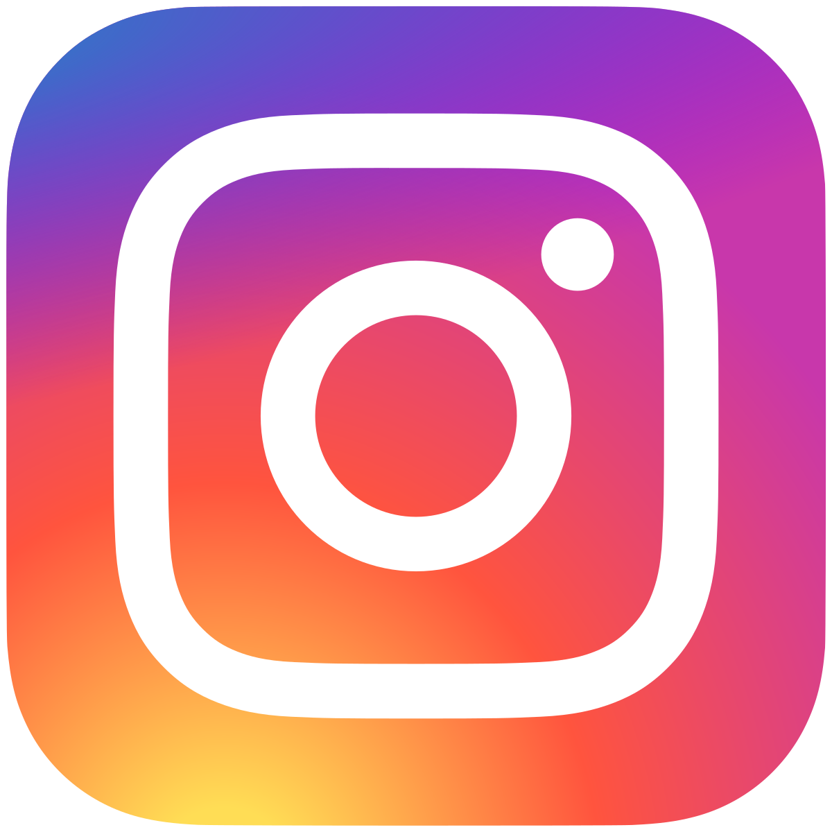 instagram icon diapositief vv
